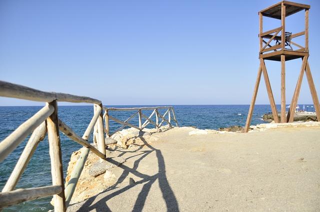 クレタ島の見張り台