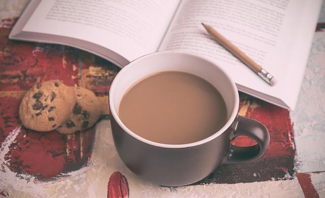 読書しながら一杯